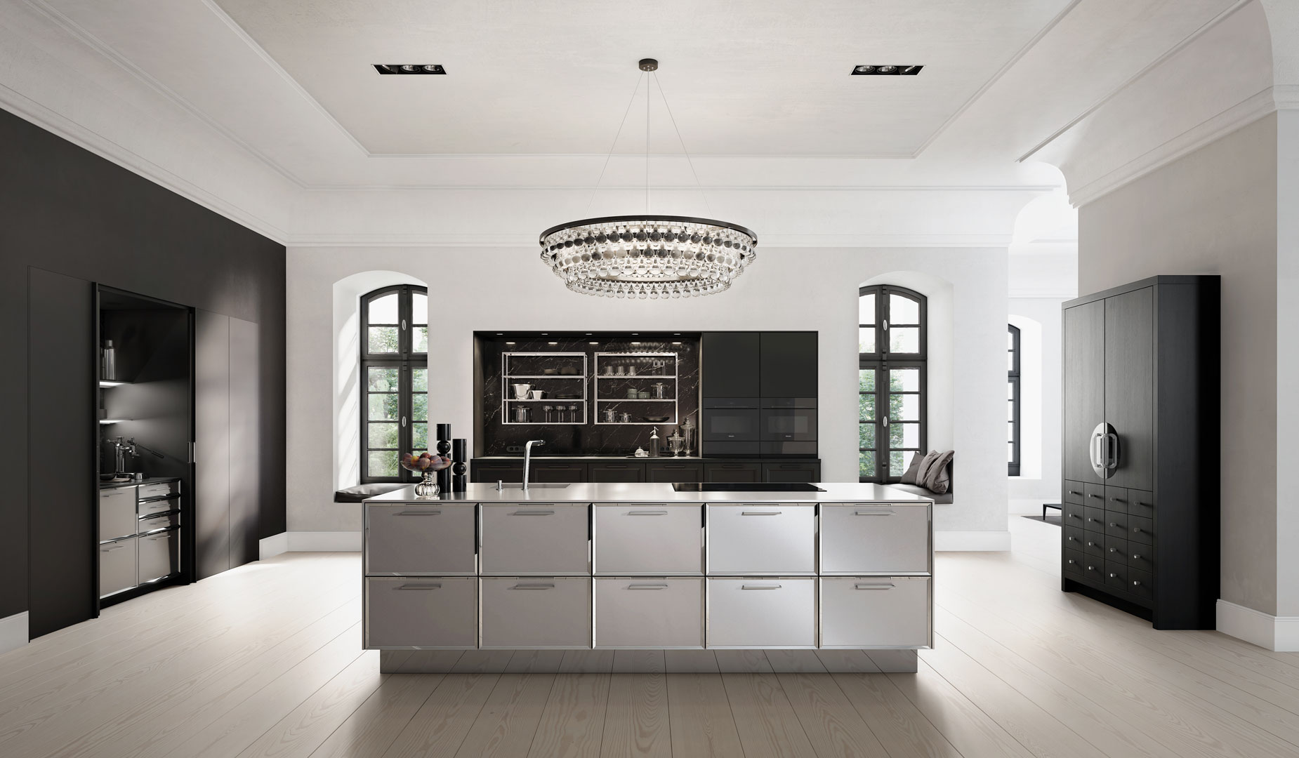 siematic am ring arcade kitchens. Black Bedroom Furniture Sets. Home Design Ideas