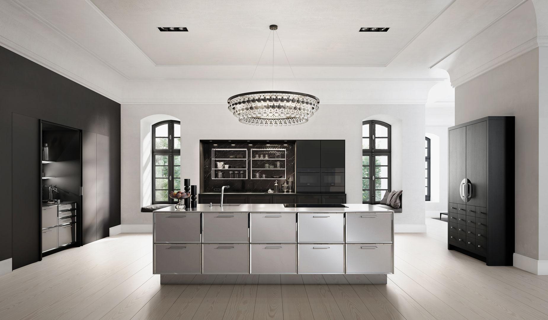 siematic am ring arcade kitchens. Black Bedroom Furniture Sets. Home Design Ideas